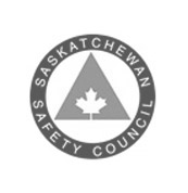 grey logo of Saskatchewan Safety Council